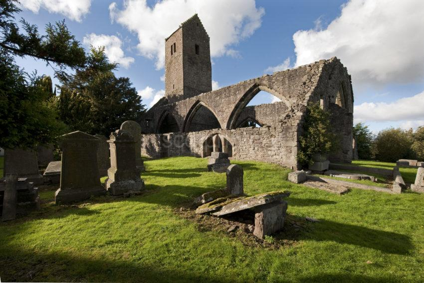 Muthill Medieval Church Ruins Perthshire