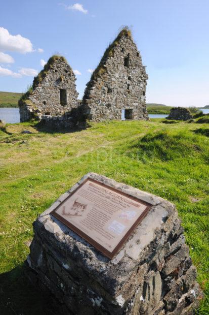 DSC 2655 Finlaggan Ruins On Loch Finlaggan Islay