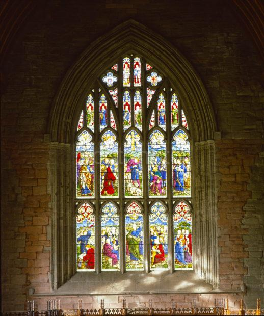 Stained Glass Window Dunkeld Cathedral Perthshire