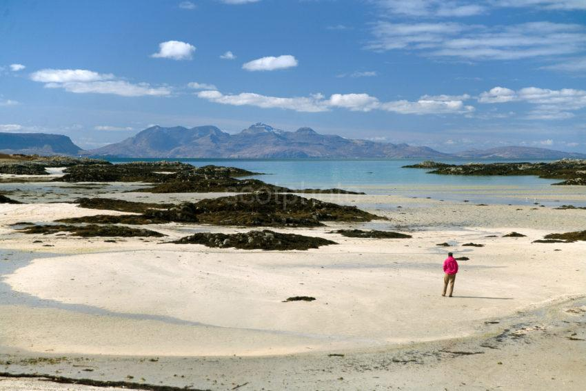 To Rum From Morar Sands