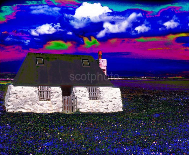 T112 Black Croft Hynish Bay Isle Of Tiree MK 3 BLUE