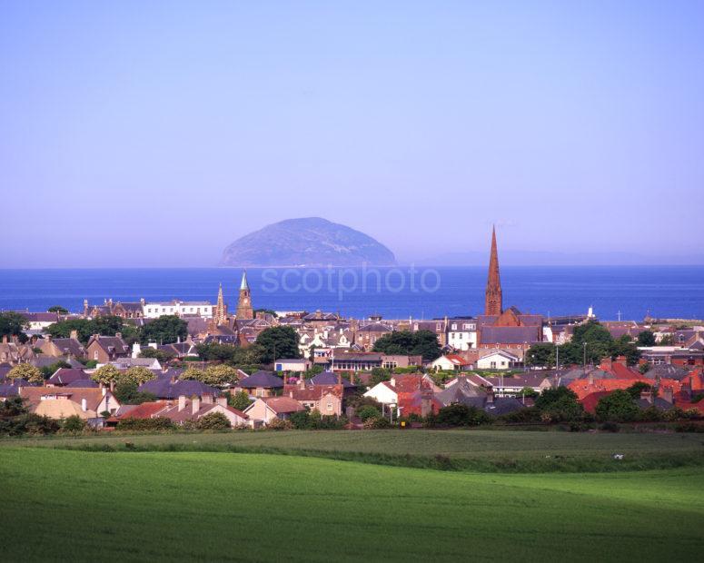 Towards Girvan And Ailsa Craig Ayrshire