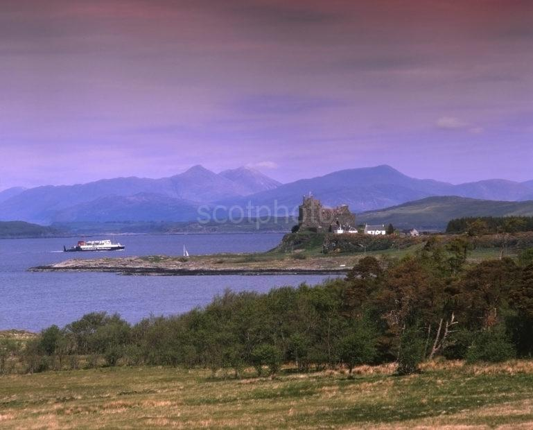 MV Iona Passes Duart Castle In The Late 70s
