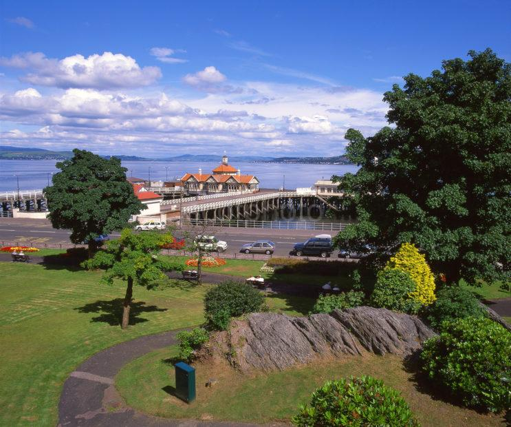 The Pier And The Clyde From Dunoon Argyll