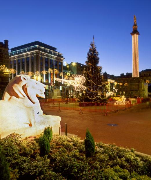 Christmas In George Square Glasgow
