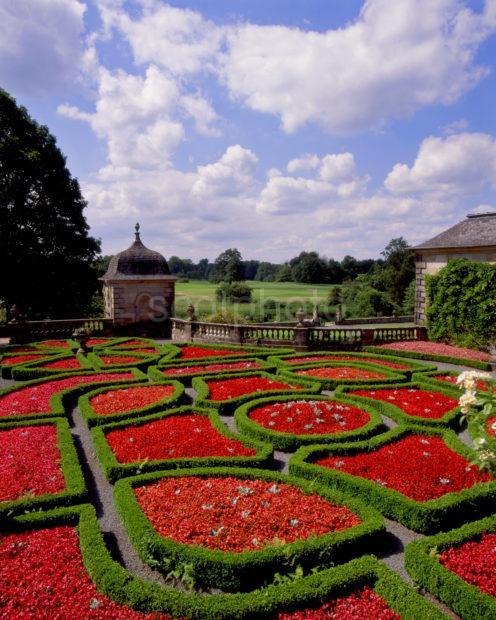 Beautiful Gardens At Pollok House Glasgow