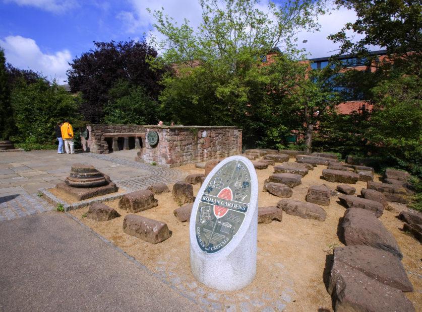 Roman Gardens Chester