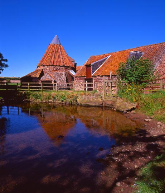 A Colourful View Of Preston Mill East Lothian