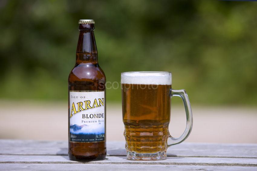 I5D0503 Arran Brewerys Latest Premium Beer Island Of Arran