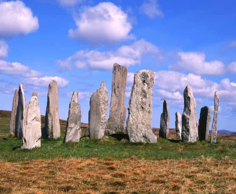 The Callanish Standing Stones Nr Callanish Island Of Lewis