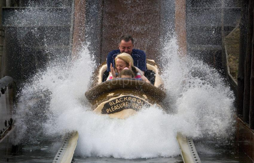 Water Chute Blackpool Pleasure Beach