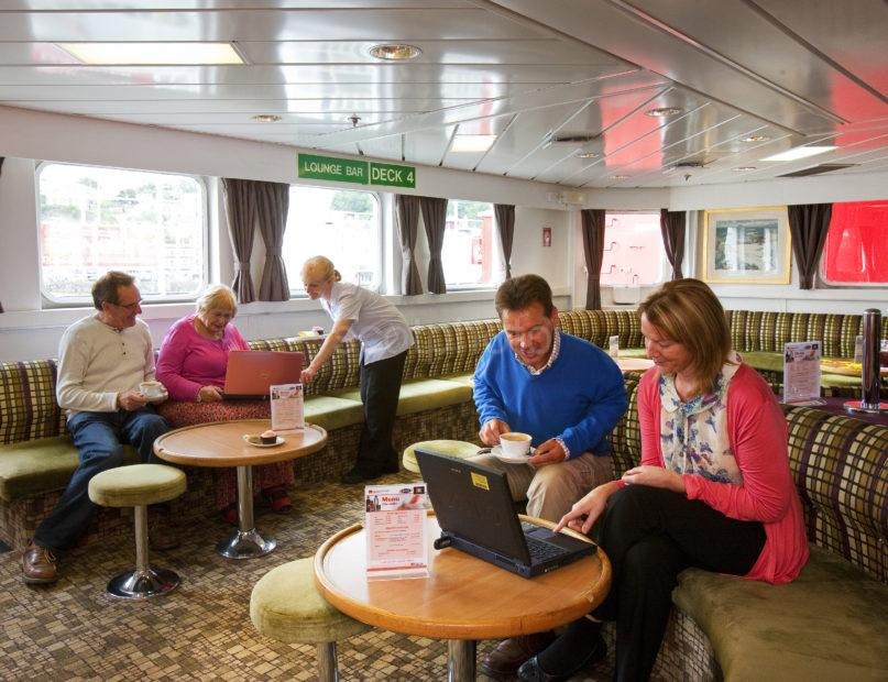 Using Onboard WiFi On MV Lord Of The Isles