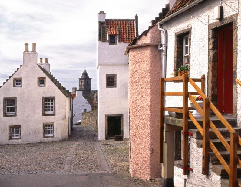 Historic And Preserved Village Of Culross 16th Cent Fife