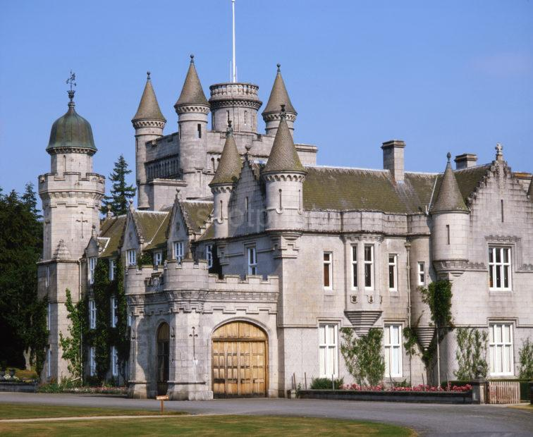 Balmoral Castle Example Of Scots Baronial Style Royal Deeside Aberdeenshire