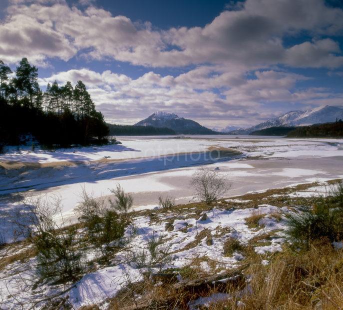Snow Scene Loch Laggan