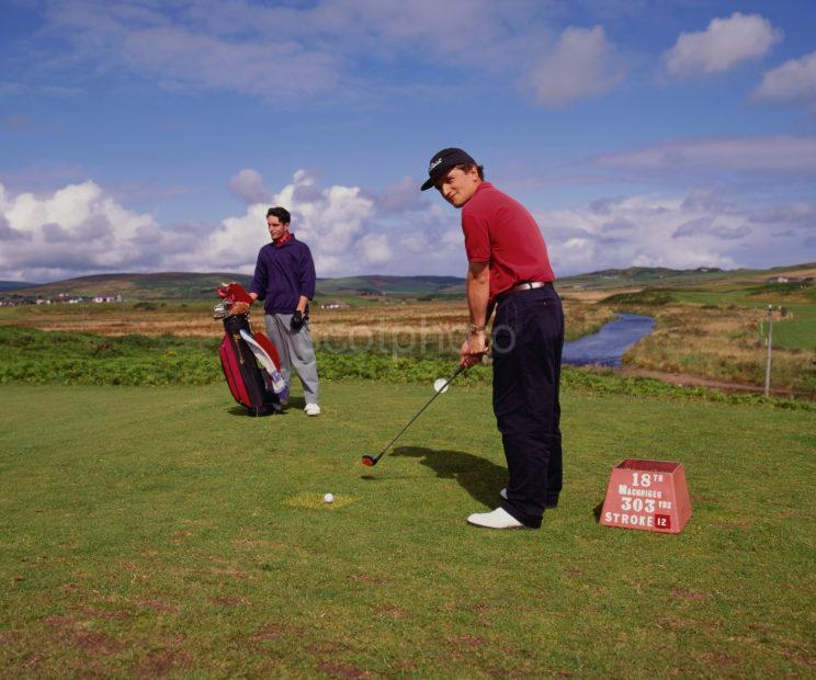 Kintyre Golfer