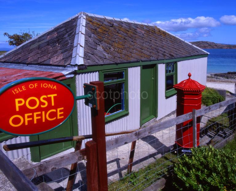 The Tiny Island Post Office On Iona