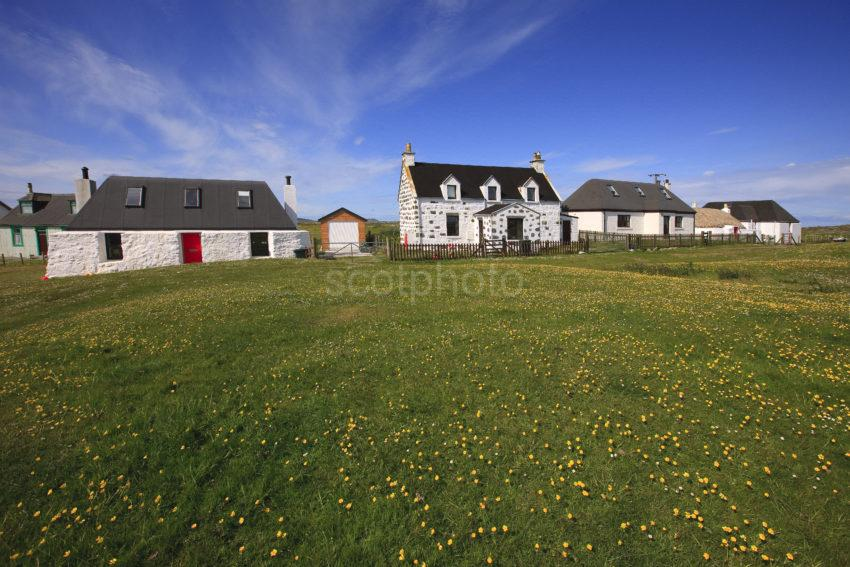 HOUSES AT SCARINISH TIREE