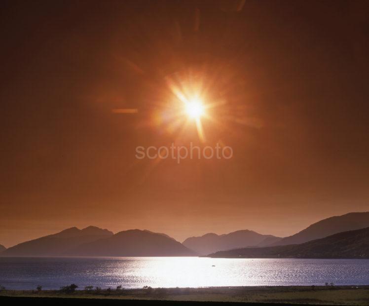 Morven Sunset Argyll