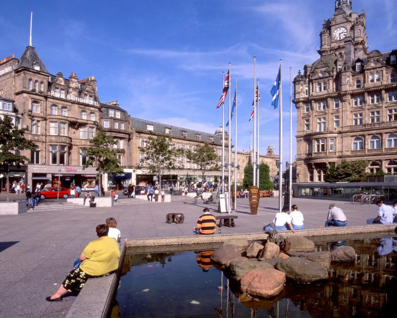 Edinburgh City Hotels Princes Street Edinburgh