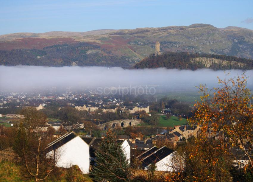 The Wallace Monument From Stirling Castle