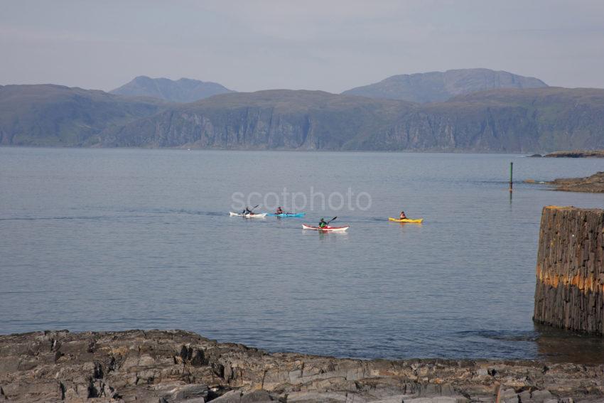 C8fd5da4 1z6e7502 Canoeists At Easdale Argyll
