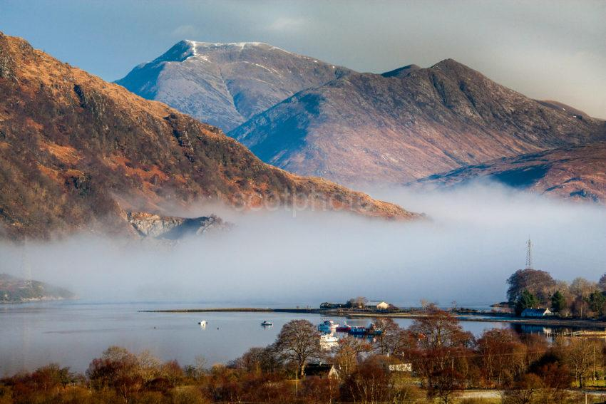Loch Etive And Glen Etive From Taynuilt