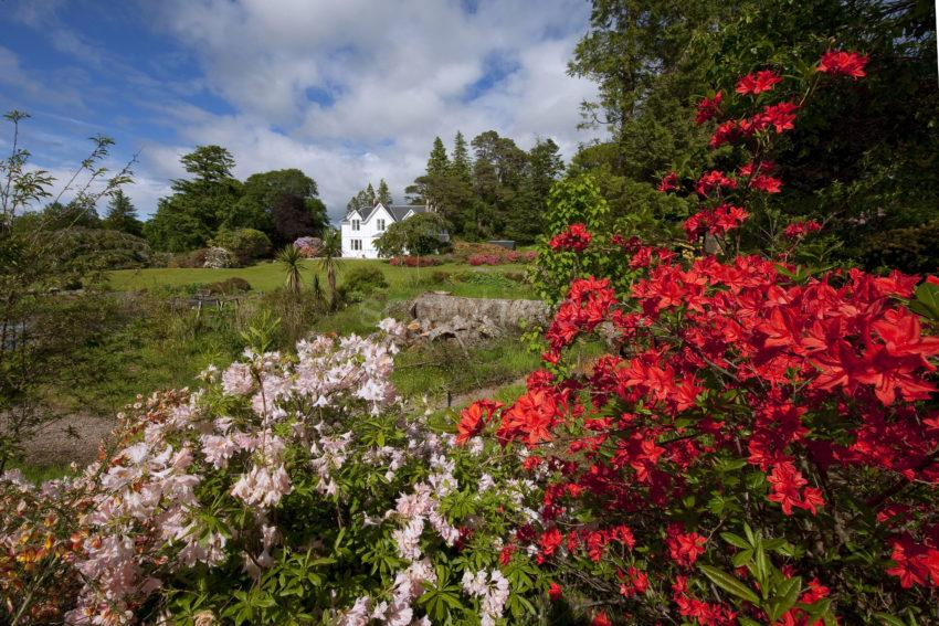 BEAUTIFUL SPRING GARDEN AT DRUIMNEIL APPIN