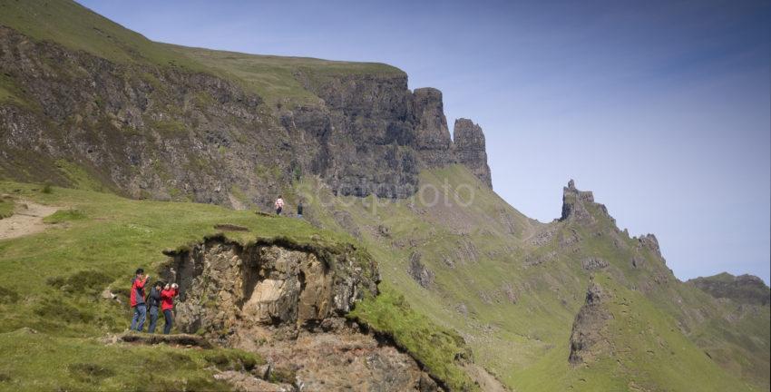 Panoramic Storr Cliffs Quiraing Skye