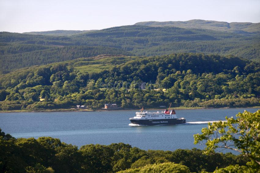 MV Finlaggan Across West Loch Tarbert To DUNMORE