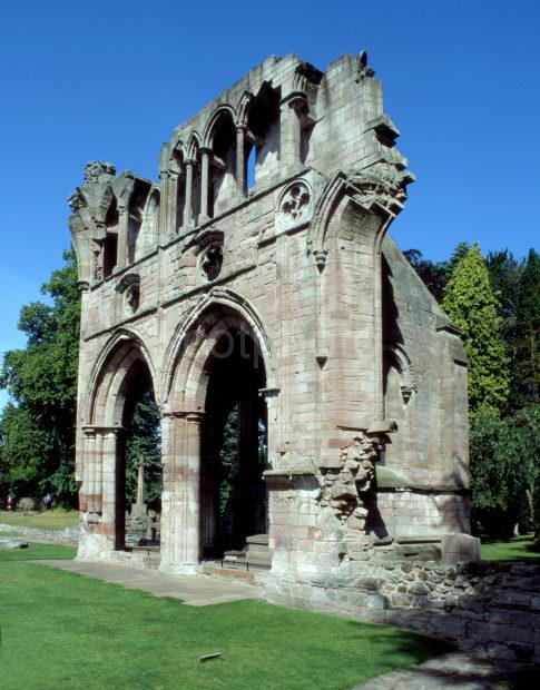 Abbey Church Ruins At Dryburgh Abbey St Boswells Sir Walter Scott Buried Here