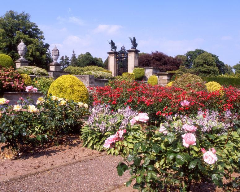 Beautiful Gardens At Manderston House Borders