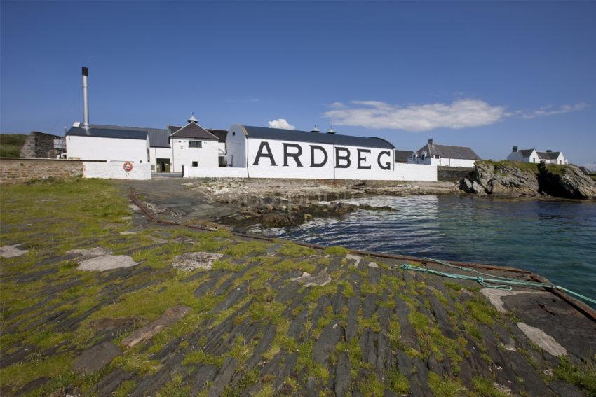 I5D0730 Ardbeg Distillery From The Pier Islay