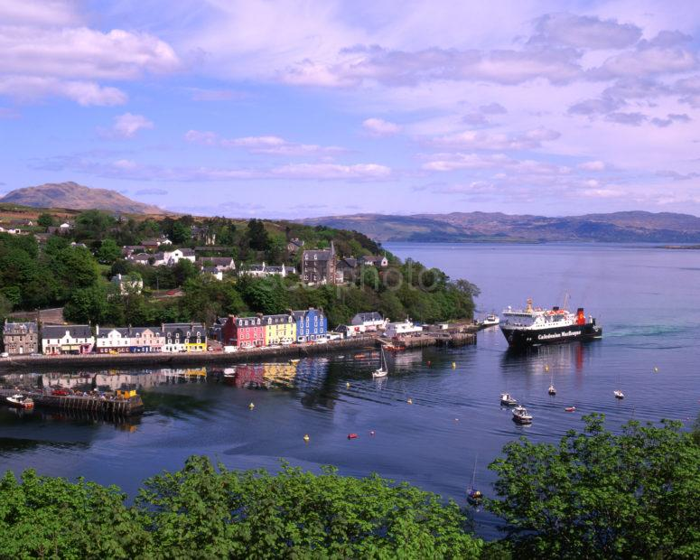 Tobermory Town And Harbour Island Of Mull