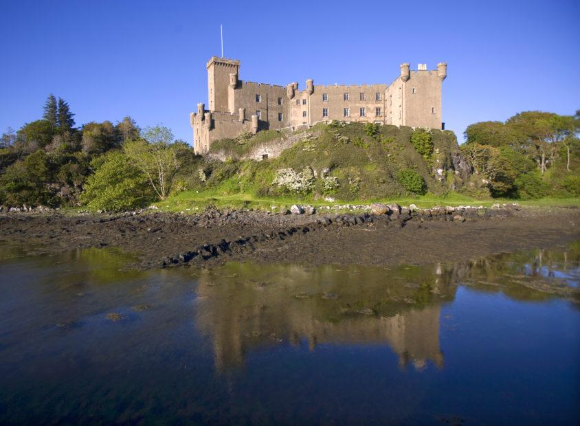 Reflections Dunvegan Castle Skye