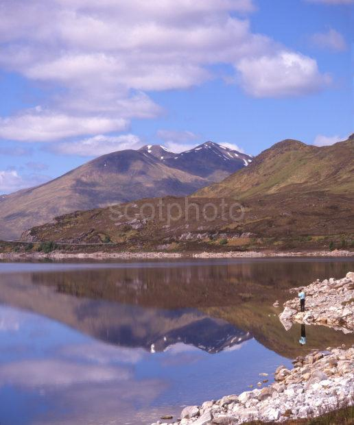 Springtime Tranquility On Loch Cluanie