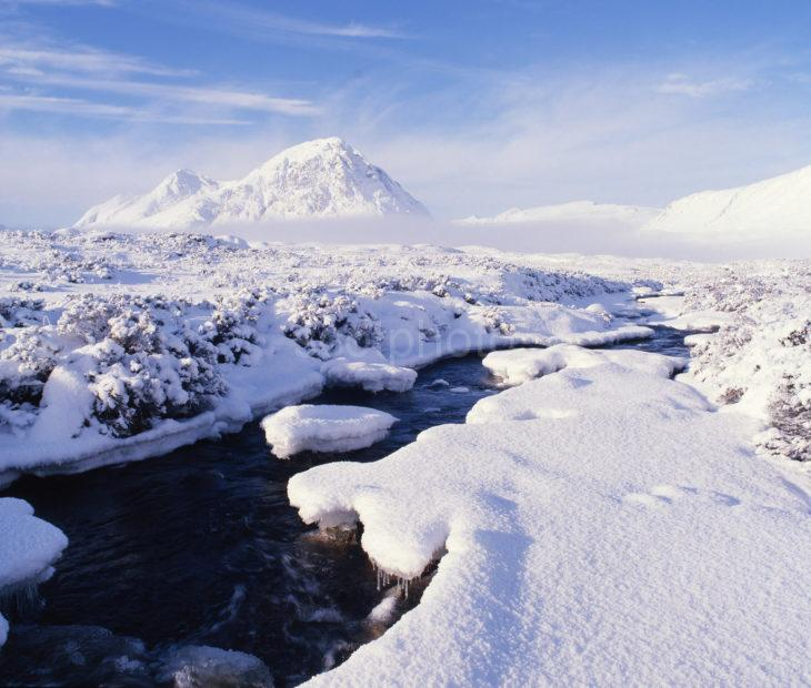 Winter View Buachaille Etive Mhor