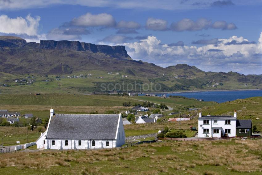 WY3Q8442 Scattered Community Of Staffin Isle Of Skye