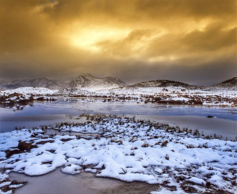 Rannoch Mhor Winter
