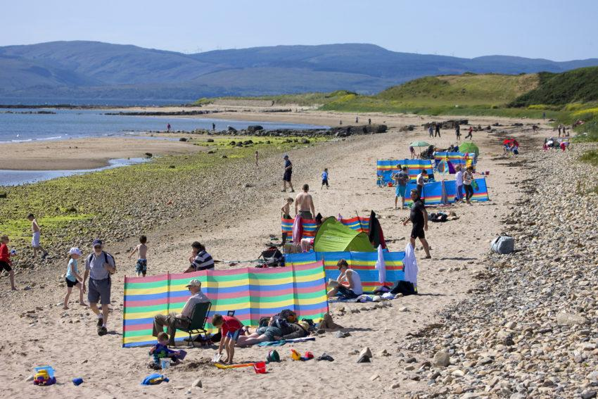 The Beach At Blackwaterfoot Arran
