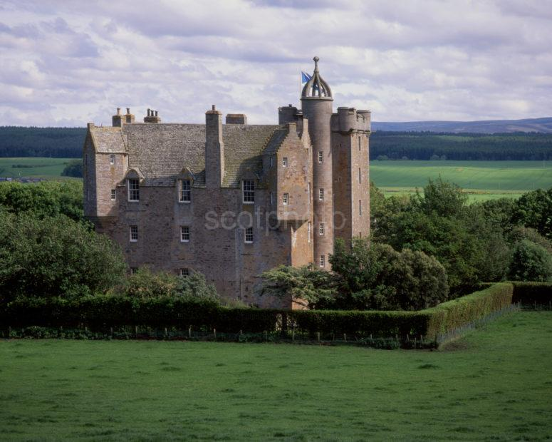Stuart Castle 1st Earl Of Moray Tower House 1625 Near Inverness Moray Firth