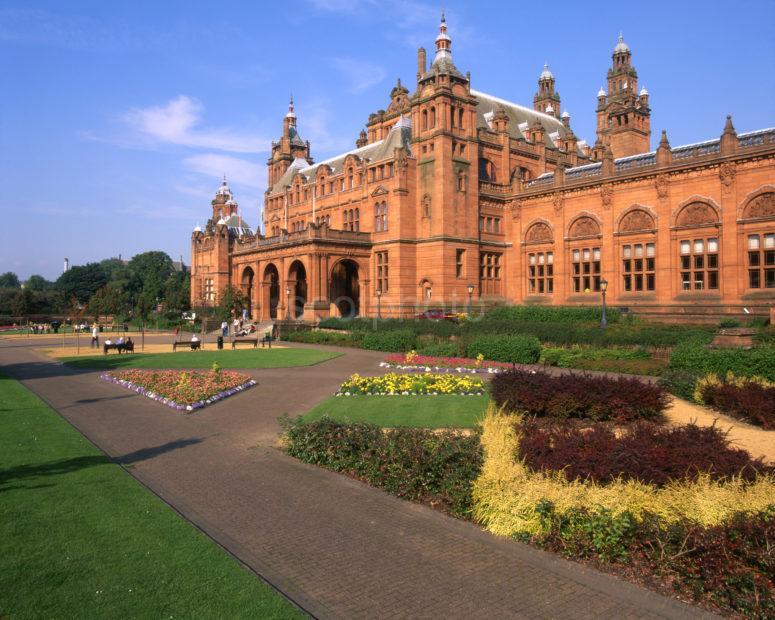 Kelvingrove Art Gallery Museum Spanish Baroque Stle City Of Glasgow