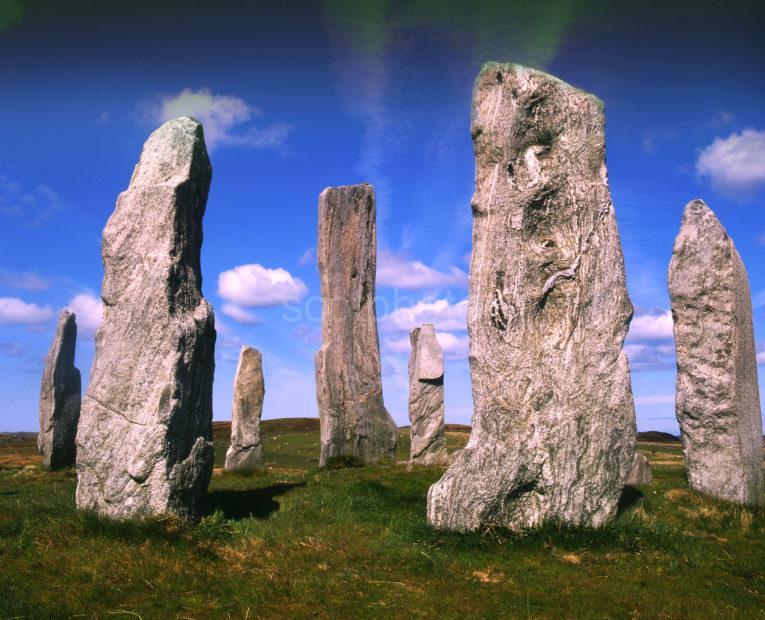 The Callinish Standing Stones Island Of Lewis Hebrides