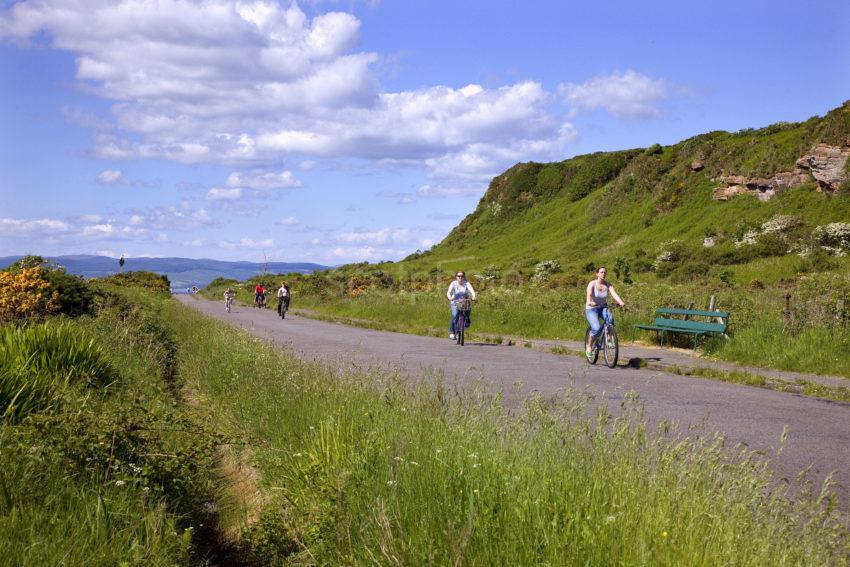 Cycling On Great Cumbrae Island