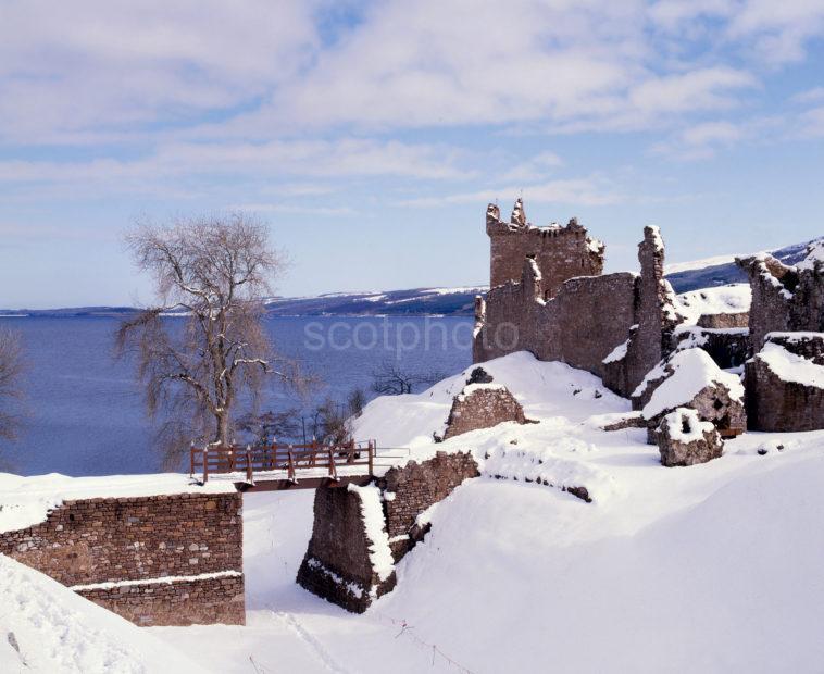 Urquhart Castle Loch Ness Winter