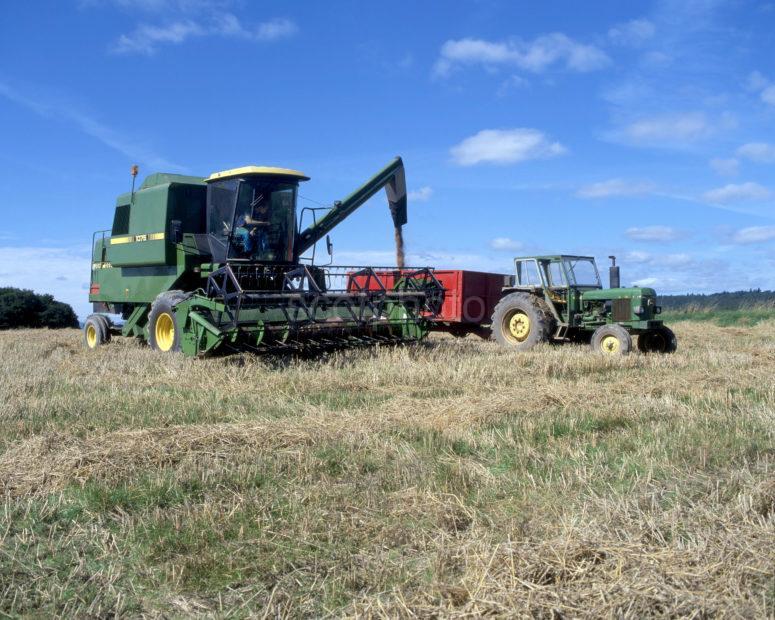 Combine Harvester Perthshire