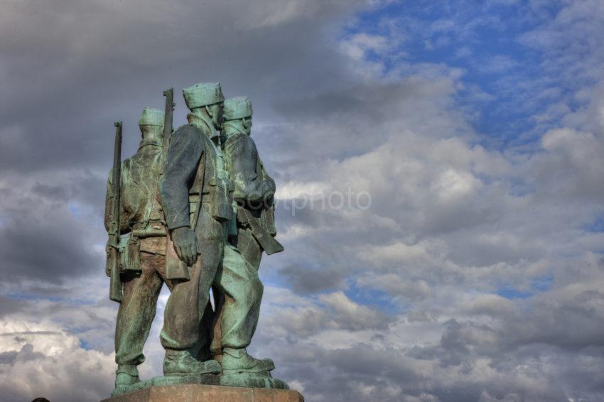 0I5D6951 Glen Spean Commando Memorial