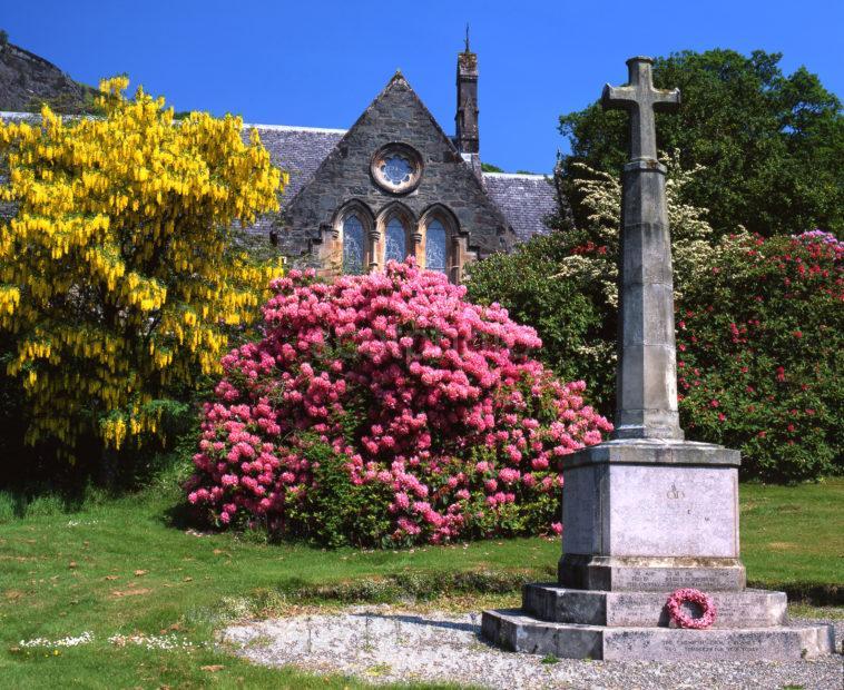 Aberfoyle Church Trossachs