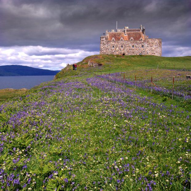 Dramatic Light Over Duart Castle Mull