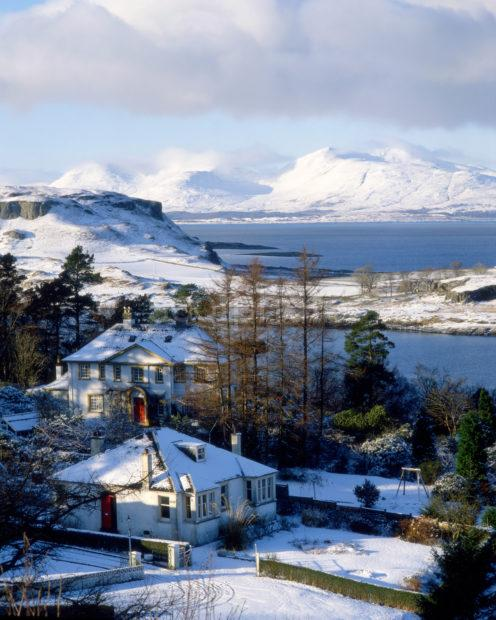 Winter View Towards The Islands Of Kerrera And Mull From Pulpit Hill Oban